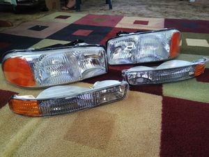 Gmc Sierra Yukon (new) Headlights for Sale in Fresno, CA