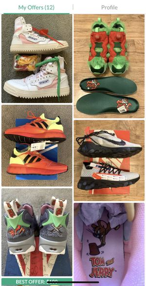 Sneakers men's 7-9 brand new/like new conditions for Sale in Los Angeles, CA