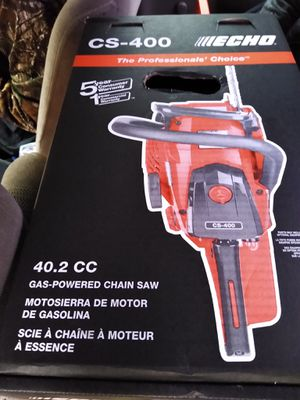 Echo gas powered chainsaw for Sale in Portland, OR