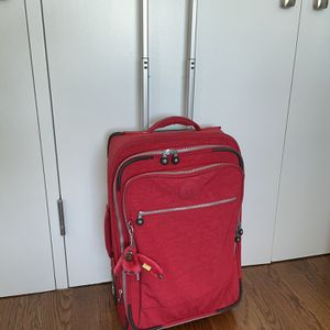 Kipling Carry-on/ Cabin Luggage Red Color for Sale in Brooklyn, NY