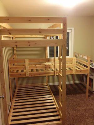 Triple bed - IKEA hacked for Sale in Pompano Beach, FL