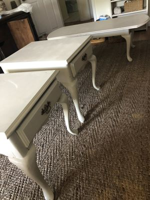 Side tables, coffee table, tv stand for Sale in Tampa, FL