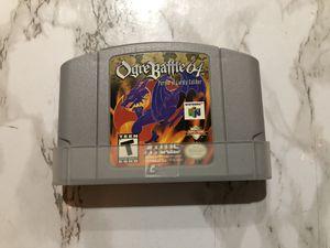 Nintendo 64 N64 game Ogre Battle 64 for Sale in Corona, CA