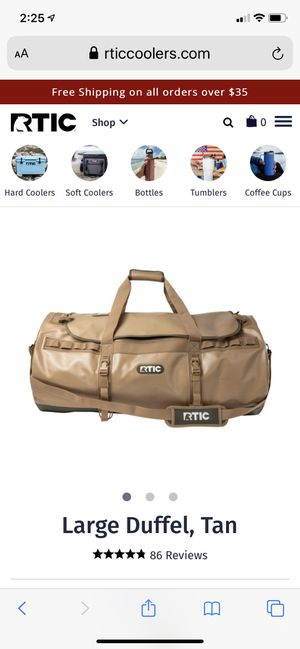 RTIC Duffle bag LARGE for Sale in Westampton, NJ
