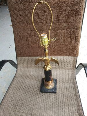 Vintage eagle lamp for Sale in New Albany, IN