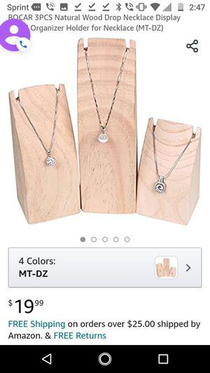 3 pcs necklaces/ bracelet holder for Sale in Glendale, AZ
