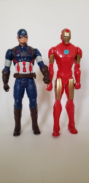 Marvel Action Figures Set of 2 for Sale in Alafaya, FL