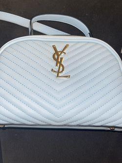 Blue Bag With Custom Ysl Logo for Sale in Fontana,  CA