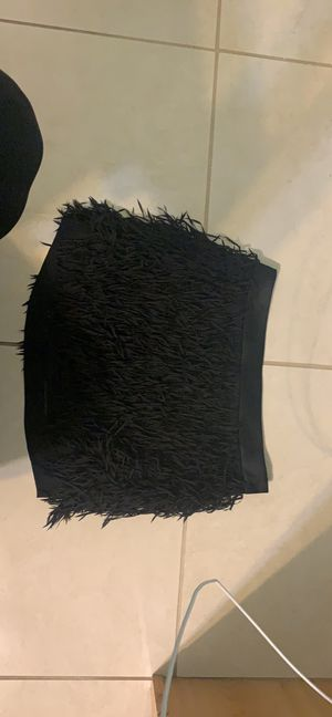 EXPRESS, Black Fringe Mini Skirt, size 2, NEW for Sale in Modesto, CA