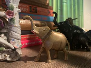Brass elephant figurine for Sale in Virginia Beach, VA