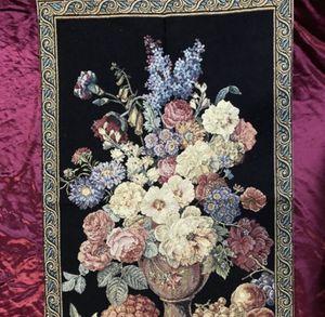 Still life flower vase wall mural tapestry for Sale in Irving, TX