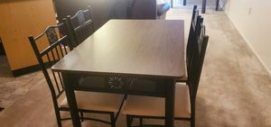 Kitchen table and chairs new for Sale in Fort Wayne, IN