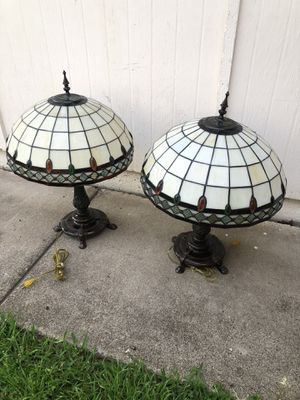 2 Tiffany style Lamps for Sale in Richardson, TX