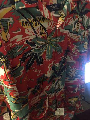 Polo Ralph Lauren Hawaiian shirt for Sale in Renton, WA