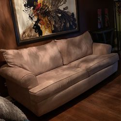 Tan/Beige Sofa Sleeper VERY GOOD CONDITION for Sale in College Park,  GA