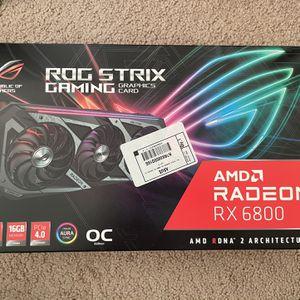 Brand New Sealed ROG RX 6800 Strix for Sale in Arlington, VA