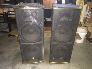 Tapco69 PA 15in woofers Speakers for Sale in Tacoma, WA