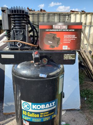 Kobalt 80 Gallon Air Compressor for Sale in Tampa, FL