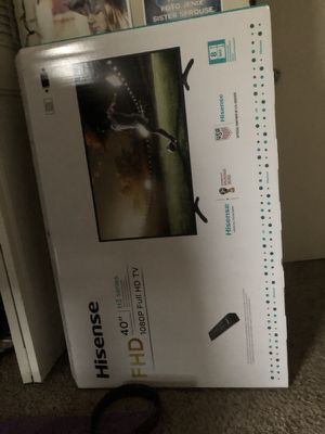 40 inch tv in box for Sale in Nashville, TN