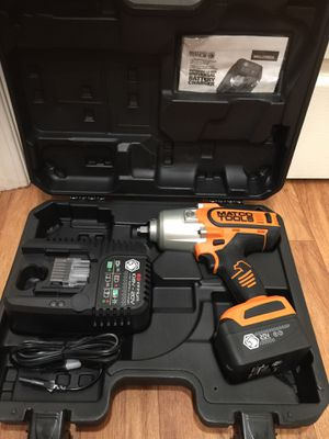"""Matco 20v 1/2"""" drive high performance impact wrench kit. Brand new condition. Retails for over $700. I'm on my asking $360 firm on price for Sale in Bellevue, WA"""