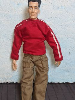 N Sync JC Chasez Action Figure Marinette Doll for Sale in Tigard,  OR