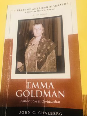 Emma Goldman for Sale in Chino Hills, CA