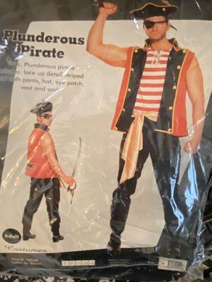 Men's pirate Halloween costume for Sale in Phoenix, AZ