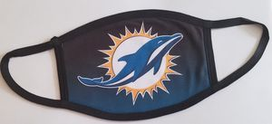 MIAMI DOLPHINS THEMED FACE MASK for Sale in Coconut Creek, FL