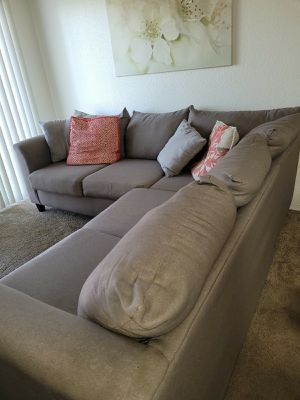 condition: good Sectional Couch Good Condition for Sale in Garden Grove, CA