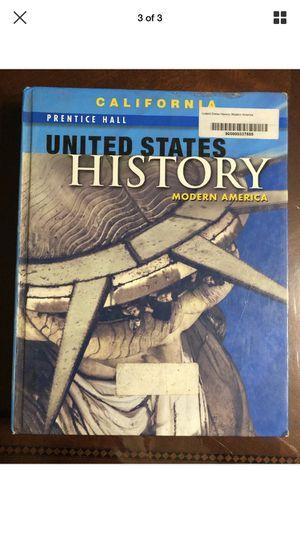 California Prentice Hall United States History: Modern America History Book for Sale in Pomona, CA