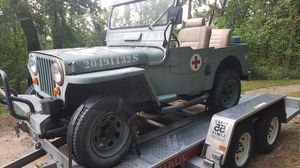 1950 Willys Jeep CJ3a for Sale in Black Mountain, NC