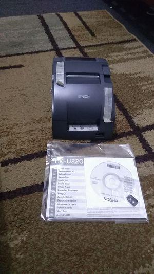 Epsom tm-u220 receipt printer for Sale in Commerce, CA