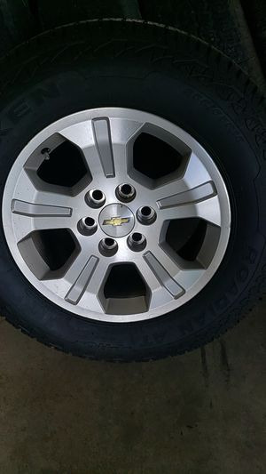 Chevy truck wheels and tires for Sale in Greensboro, NC