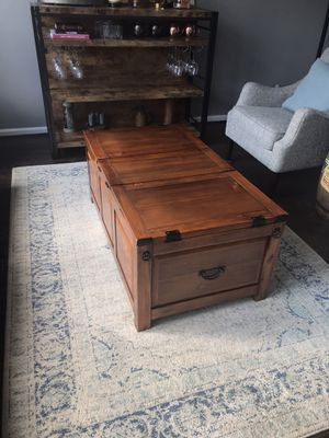 Trunk style coffee table for Sale in Virginia Beach, VA