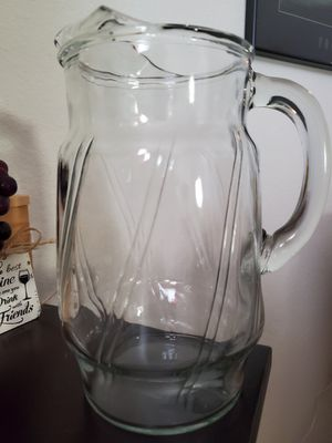 Glass pitcher for Sale in Orlando, FL