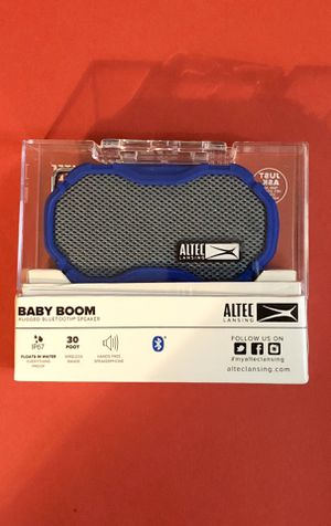 Altec Lansing Baby Boom Rugged Wireless Bluetooth speaker - New - pick up in Elizabeth or have it shipped for Sale in Roselle, NJ