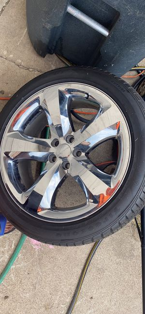 Dodge rim and tire for Sale in Killeen, TX