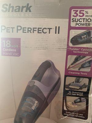 Shark Pet Perfect 15.6-Volt Cordless Handheld Vacuum for Sale in Pico Rivera, CA