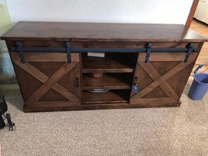 Tv stand with sliding doors for Sale in Frostproof, FL