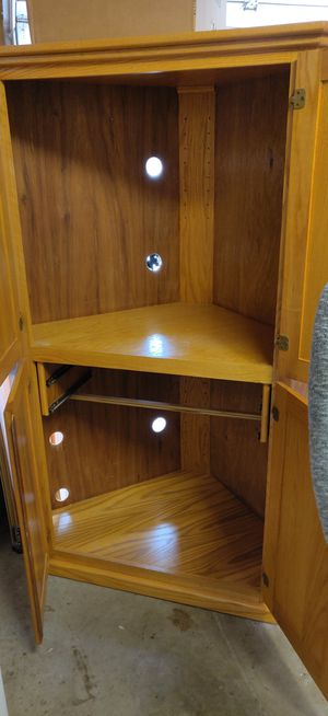 Corner TV or Computer Cabinet for Sale in Ward, AR