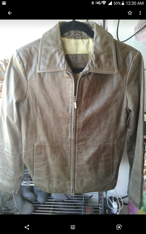 GUESS leather coat for Sale in San Francisco, CA
