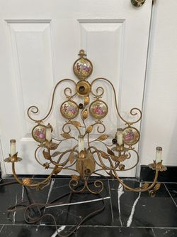 Wall brass Italian candelabra for Sale in Calabasas,  CA