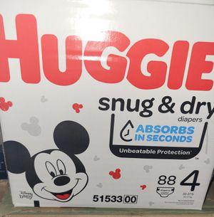 Huggies size 4 for Sale in Phoenix, AZ