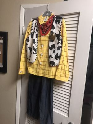 Brand new Disney Woody kids costume size 13 for Sale in Rancho Cucamonga, CA
