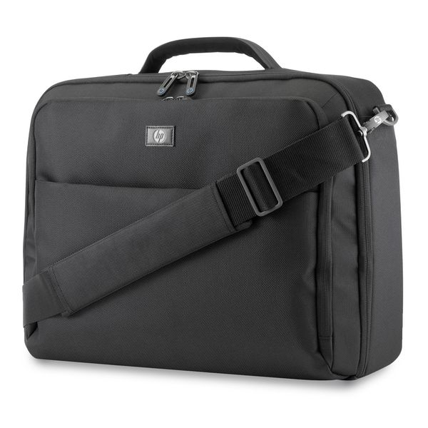 """NEW! Genuine HP Professional Top Load Notebook Laptop Large Tablet Case Bag Holds 17.3"""""""