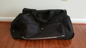 Puma rolling duffle bag for Sale in Germantown, MD