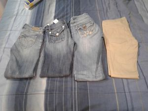 4 Pairs Of Brand Jeans sz 0/1 for Sale in Prineville, OR