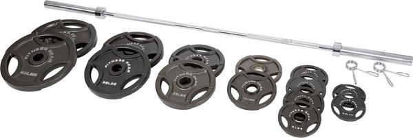 300 lbs olympic barbell set