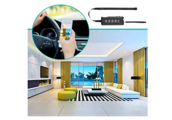 Spy Camera Module Wireless Hidden Camera WiFi Mini Cam HD 1080P DIY Tiny Cams Small Nanny Cameras Home Security Live Streaming Through Android/iOS App