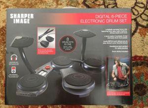 New Sharper Image digital 6-piece electronic drum set for Sale in Everett, WA